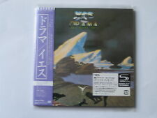 "YES ""Drama"" + bonus   Japan mini LP SHM CD"