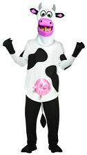 Deluxe Comical Cow Costume Adult Light Weight Cosplay Funny Animal - Fast Ship -