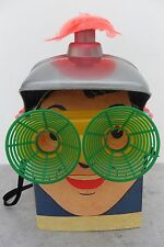 Rare Plastic Space Helmet and Glasses by Banner Toys Made in USA 1950's
