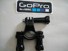 BIKE CYCLE CLAMP BRACKET FOR POST HANDLE BARS - GO PRO HERO 3 & 4 + STICKER