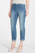 NYDJ Nichelle Stretch Roll Cuff Ankle Jeans 18 NWT $124