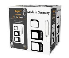 sim karten adapter set micro nano sim adapter iPhone SE htc samsung noosy moto *