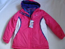 NWT Girls Zero XPosur Winter Jacket Size 14 L Systems Coat 3-in-1 Pink Parka NEW