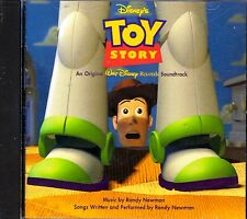 Walt Disney's TOY STORY: ORIGINAL MOTION PICTURE FILM SOUNDTRACK MOVIE MUSIC CD!