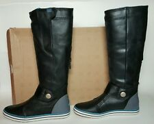 NIKE WOMEN'S CARICO HIGH LEATHER BOOTS SIZE 5.5 BLACK NEW/BOX 525412 041