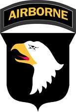 """101st Airborne Division Patch 3.8"""" Sticker / Decal"""