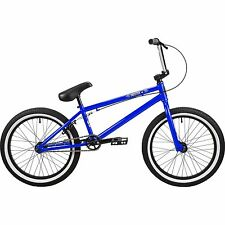 "NEW DK Cygnus 20"" BMX Street Dirt Complete Bike Neon Blue 2015 Retail $329.99"