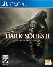 NEW Dark Souls II 2 Scholar of the First Sin (Sony PlayStation 4, 2015) NEW
