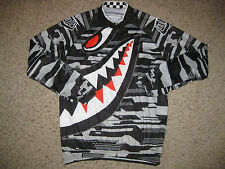 Nuckily Team Shark Long Sleeve Cycling Jersey XL Bike Bicycle Cycle Running Mens