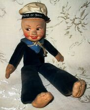Nora Wellings Cloth Sailor Doll 1940's to 1950's