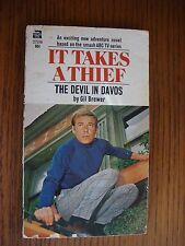 It Takes A Thief: The Devil in Davos - Vintage PB Gil Brewer ACE 1969