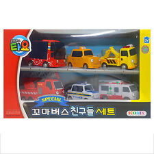 TAYO the Little Bus Friends 6 Cars A Set Toy Children's toys Kids Birthday Gift