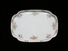 Nippon Dresser Perfume JewelryTray with Flowers and Gold Gorgeous Very OLD