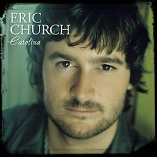 Carolina CD by Eric Church  Capitol Nashville (Audio CD) Longer Gone, Carolina
