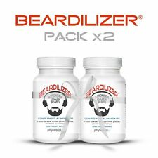 Beardilizer®  #1 Facial Hair and Beard Growth Complex (2 Pack) - 180 Capsules