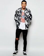 NEW ADIDAS ORIGINALS UNISEX TT TRACK ATHLETIC JACKET IN TRACK PRINT SZ/ SMALL