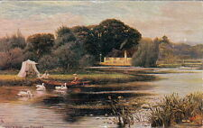 TUCK OILETTE : Pangbourne on Thames-F.S.WALKER