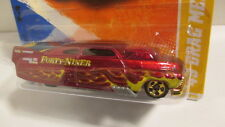 Hotwheels 2010 New Models #30  1949 DRAG MERC  red & gold  `49 Mercury