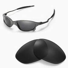 New Walleva Polarized Black Lenses For Oakley X Metal XX