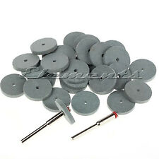7pc Set of 22mm Silicone Rubber Polishing Discs Wheels Rotary Tool Dremel T035