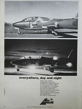 9/1974 PUB AERMACCHI AVION MB 326 TRAINER AIRCRAFT FARNBOROUGH ORIGINAL AD