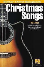 Christmas Songs Guitar Chord Songbook (Guitar Chord Songbooks)