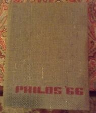 1966 Philos Sidwell Friends School Yearbook Washington, DC