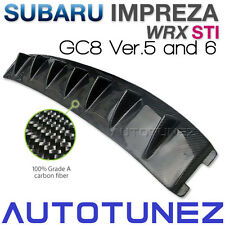 Carbon Fiber Car Vortex Generator For Subaru Impreza WRX GC8 Version 5 & 6 TU