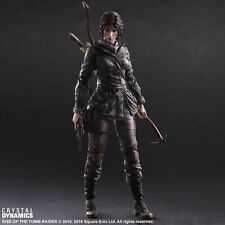 Rise of the tomb raider lara croft play arts kai action figure - 100% authentique