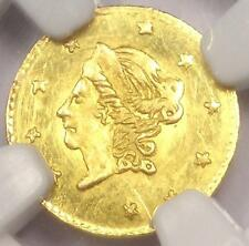 1871 Liberty 50C California Gold Half Dollar Coin BG-1011 - NGC UNC Detail (MS)