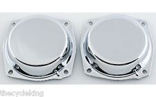 Honda Goldwing GL 1200 - (x2) Chrome CARBURETOR TOPS / DIAPHRAGM CAPS