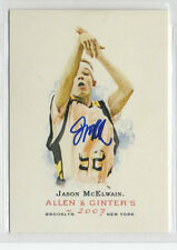 Jason McElwain 2007 Allen & Ginter signed auto autographed card