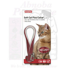 Beaphar Soft Velvet Cat Flea Collar insecticide that kills fleas for 4 months