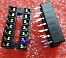 20PCS 14-Pin 14pins DIL DIP IC Socket PCB Mount Connector NEW GOOD QUALITY