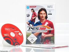 Pes-Pro Evolution Soccer 2009/09-dt. version - + Nintendo Wii juego +