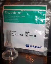 50 Condom Catheters 31mm FREEDOM CLEAR ADVANTAGE Ref #6300/30 Adhesive Coloplast