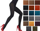 60 Denier, Womens Opaque Microfibre TIGHTS, Various Colours , Sizes M - XXL