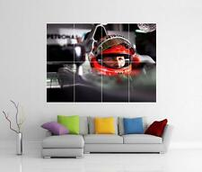 MICHAEL SCHUMACHER F1 FERRARI GÉANT DÉCORATION MURALE IMAGE PHOTO IMPRIMÉ