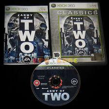 ARMY OF TWO 1 XBOX 360 Versione Italiana Classics ••••• COMPLETO