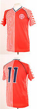 DENMARK 1986 WORLD CUP RETRO LAUDRUP 11 FOOTBALL SHIRT LARGE L