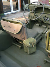 US ARMY CANVAS MAP CASE Custodia Carte Willys Jeep MB m201 Hotchkiss FORD GPW