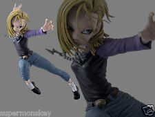 (P) BANPRESTO DRAGONBALL DRAGON BALL Z SCULTURES BIG 6 V3 ANDROID 18 FIGURE