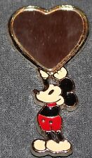 NICE RARE VINTAGE DISNEY MICKEY MOUSE HAND HELD SMALL MIRROR