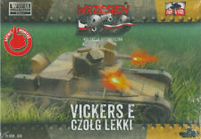 First to Fight 028 light tank Vickers E two turret