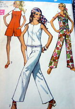 LOVELY VTG 1960s JUMPSUIT Sewing Pattern 10/32.5