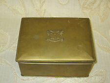Antique Collectable State Express Cigarettes Tin Box - 1940's