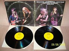 EDGAR WINTER White Trash/Roadwork 1972 Epic GF DBL LP KEG 31249 VG+