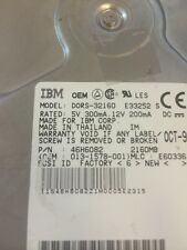 IBM DORS-32160 2.1 GB 80 Pin SCSI HDD