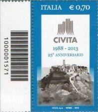 1571 CODICE A BARRE LATO SINISTRO O DESTRO A SCELTA GRAZIE  0,70  ANNO 2013