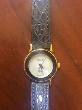 VANITY FAIR GRUEN QUARTZ WATCH GENUINE LEATHER
